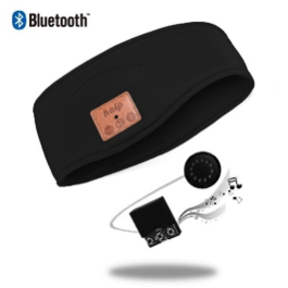 Image of   Bluetooth Pandebånd (Sort)