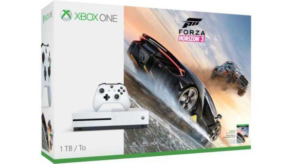 Xbox One S 1TB forza 3