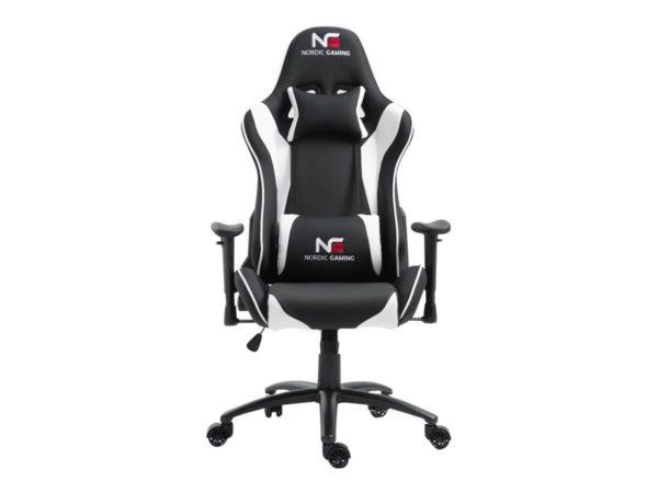 Nordic Gaming Racer Gamer Stol - Hvid/Sort