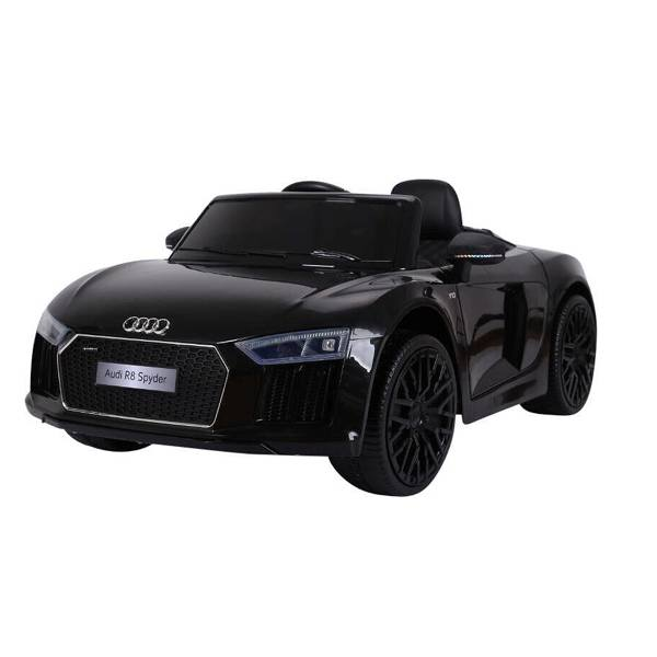 Image of   Audi R8 Spyder El-bil - Sort