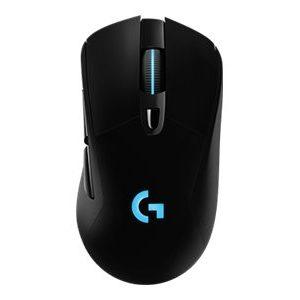 Logitech Gaming Mouse G703 Optisk Trådløs Kabling Sort