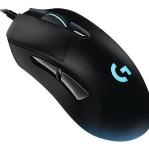 Logitech Gaming Mouse G403 Prodigy Optisk Kabling Sort