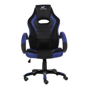 gaming stol blå