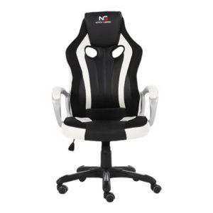 gaming stol hvid