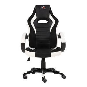 gaming stol hvid nordic gaming