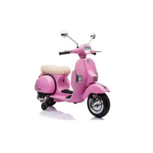 Vespa scooter el pink