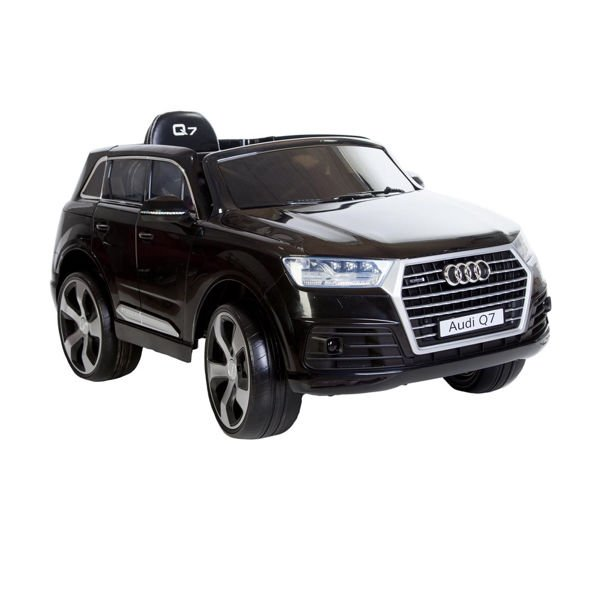 Image of   Audi el-bil - Q7 Sort