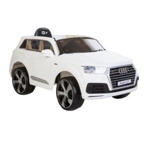 Audi Q7 elbil hvid