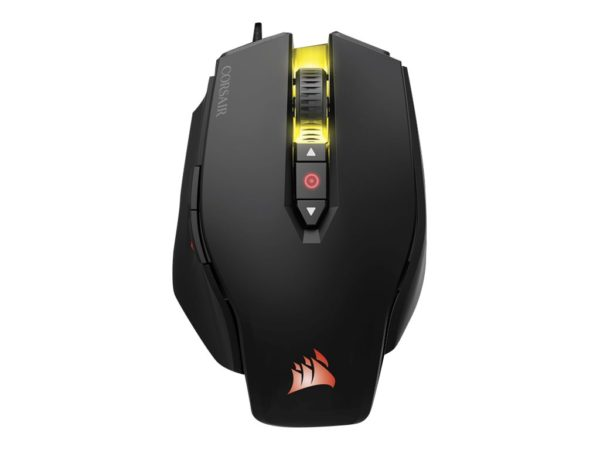CORSAIR Gaming M65 PRO RGB FPS Optisk Kabling Sort