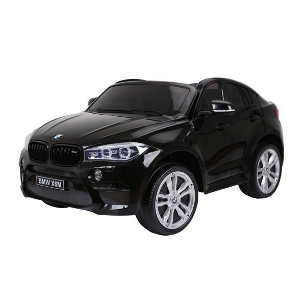 Image of   BMW el-bil - X6 Sort