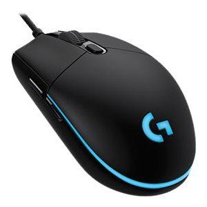 Logitech Gaming Mouse G Pro Optisk Kabling Sort