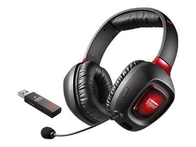 Image of   Creative Sound Blaster Trådløs Headset - Rød/Sort