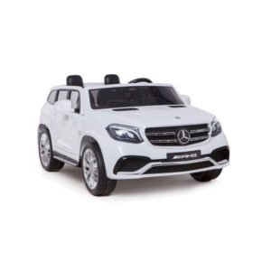 Mercedes GLS63 Elbil - Hvid