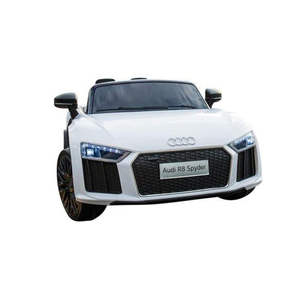 Audi R8 Spyder El-bil - Hvid