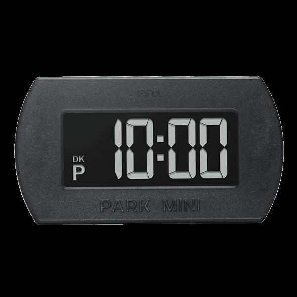 Elektronisk p-skive ParkOne Mini Sort