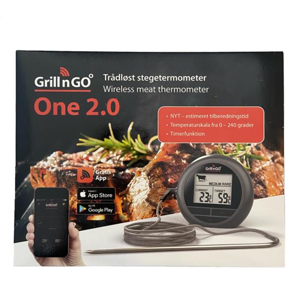 GRILLNGO ONE 2.0 STEGETERMOMETER
